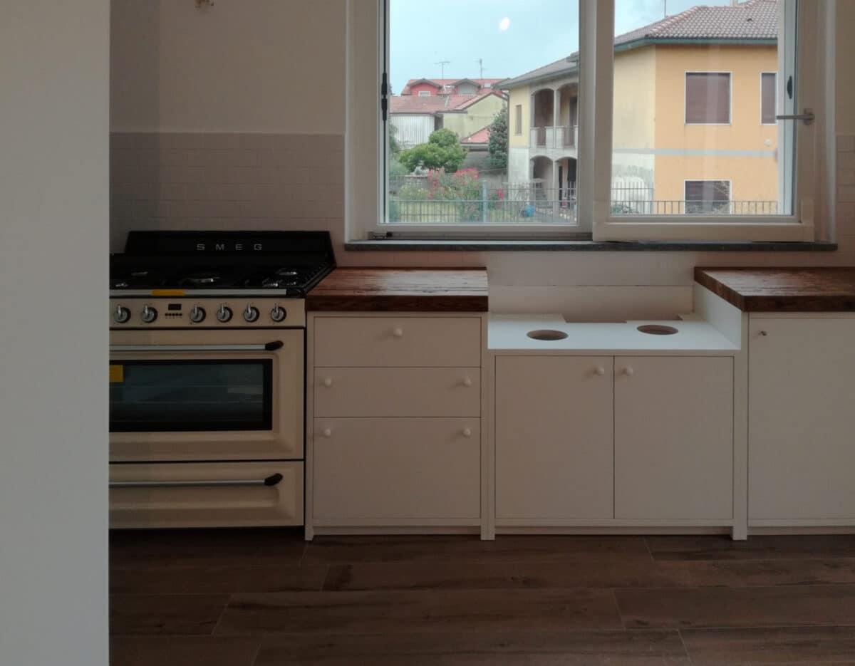 I mobili della cucina hanno ante in Fenix®